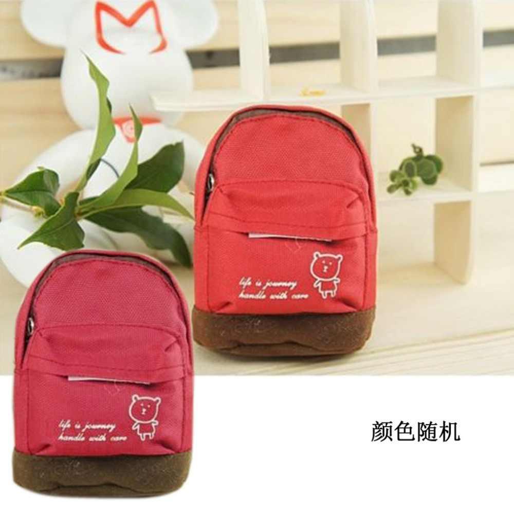 Thinkthendo moda portátil mochila bolsa de moedas carteira bolsa de mão para senhora presente dos homens