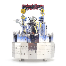 Michael Jackson Music Box with RC Color Light 3D Metal Puzzle DIY  Children Gift Musical Boxes Christmas Gift Adult