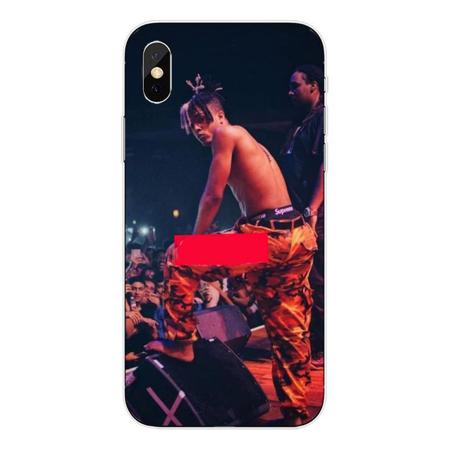 High quality Soft silicone Xxxtentacion Case Cover For Apple iPhone 6 6s 7 8 Plus X 10 5 5S SE Transparent Phone Cases