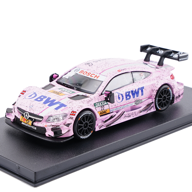 No 22 Dtm Racing Car For Benz C63 Amg Toy Vehicles Pink Simulation