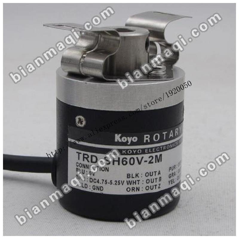 KOYO Koyo TRD-SH60V-2M air spindle rotary encoder 8mm 60P / R