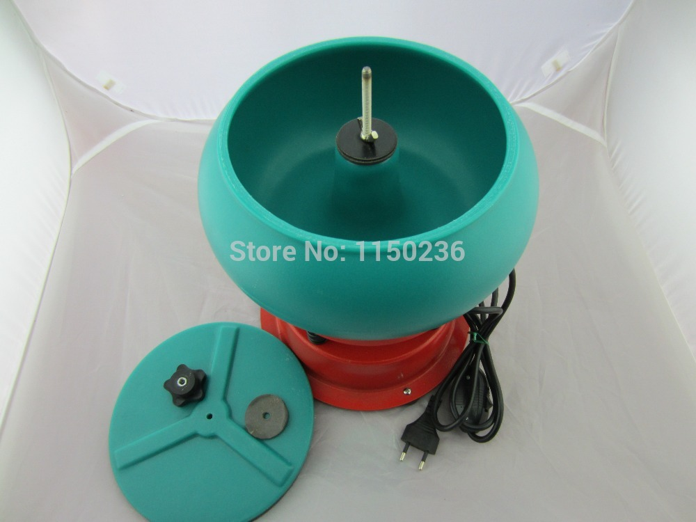 220 v/110 v, 3L capacité mini gobelet vibrant, machine à polir les bijoux, polisseuse à bijoux, outil de bijoux, rouleau de roche vibrant