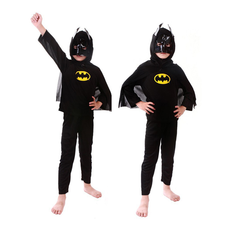 3 styles kids baby superhero spider man superman batman spiderman cosplay carnival halloween costume child accessories for kids 17
