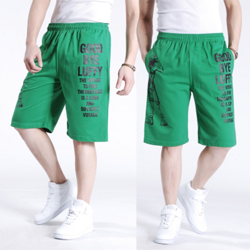Free shipping Plus size summer men's hiphop casual shorts mens  shorts Knee Length short trousers shorts man for 140kg