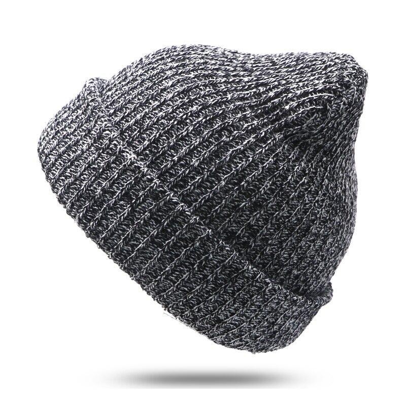 code promo économiser site réputé € 2.95 25% de réduction|1 pièces marque Bonnet Homme Femme bonnets tricotés  hiver chapeau casquettes Skullies hiver chapeaux pour femmes hommes Bonnet  ...