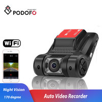 Podofo WiFi Car DVR Camera Novatek 96658 Dashcam Auto Video Recorder Registrator Mini Wireless G sensor Night Vision Dash Cam