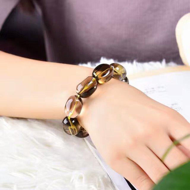 Bracelet Avec Pierre Citrine