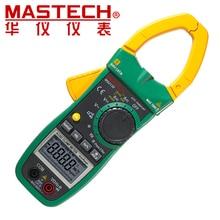 MASTECH MS2138 AC/DC Напряжение Ток Клещи (0-1000A)/Гц/Рабочий Цикл/Cap Тестер авто Диапазон