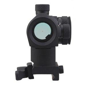 Image 5 - Vector optical Maverick 1x22 cadre de visée tactique Compact à points rouges, à libération rapide, monture QD pour vrais fusils, pistolets, Airsoft