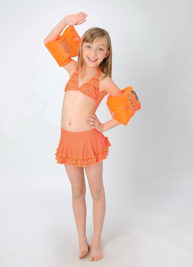 Dzieci Moda Cute Moda Dziewczyna Bikini Stroje Kpielowe -4198