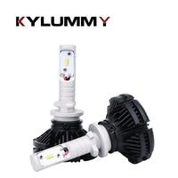 H27 880 881 LED Car Headlight Bulbs H4 H7 H1 H3 12V 24V 50W ZES LED