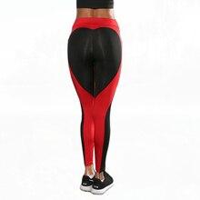 Women Sexy Heart Leggings 2017 Ladies Push Up Leggins