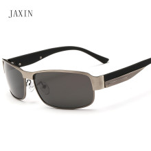 лучшая цена JAXIN Fashion Polarized Sunglasses Men's Trends New Atmosphere Men Sunglasses Outdoor Travel Eyewear Glasses UV400 lentes de sol