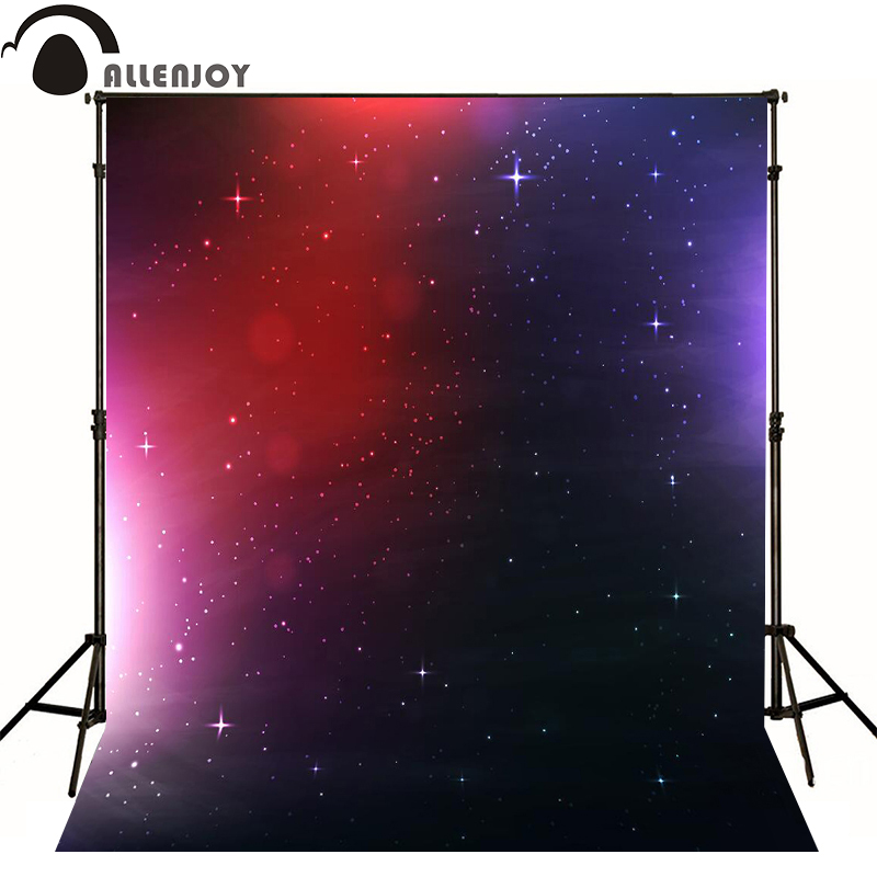 Allenjoy photographic background Color purple red stars kids vinyl photo studio photography backdrops lovely  allenjoy photographic background castle butterfly purple stars newborn photography photo for studio send rolled wood