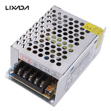 Lixada AC 110V/220V to DC 12V 2.5A 30W Voltage Transformer Switch Power Supply for Led Strip Industrial equipment Durable(China)