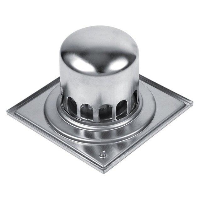 new 15cm oversize stainless steel antiodor floor drain bathroom kitchen shower drain