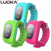 HOT Q50 Smart horloge Kinderen Kid Polshorloge GSM GPRS GPS Locator Tracker Anti-verloren Smartwatch Kind Guard voor iOS Android