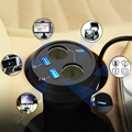 USB Carregador de Carro Carro Cigarro Carregador de Isqueiro DC Power Splitter 2 Portas USB Do Cigarro Do Carro Mais Leve Carregador Extensor Divisor