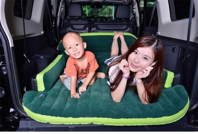 Lowest price SUV Inflatable Mattress With Air Pump Travel Camping  Car Back Seat Sleeping  Mattress Car Sex sleeping Bed