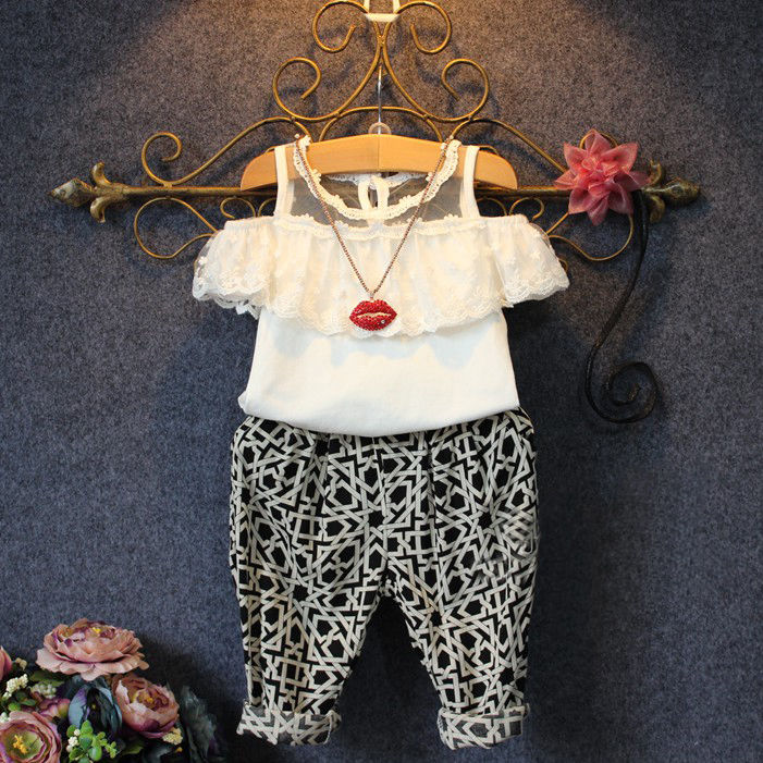 Ocean Baby Clothes 2018 New Toddler Baby Girls Boys Camouflage Bow Tops Pants Outfits Set Clothes