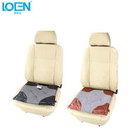 1pc Square Cloth Car Seat Cushion Car Styling Seat Covers Car Covers Universal Car Pillow For
