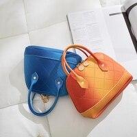 FGGS-Роскошная Новая модная градиентная женская сумка Икра портативный каркас сумка через плечо сумка кошелек женский