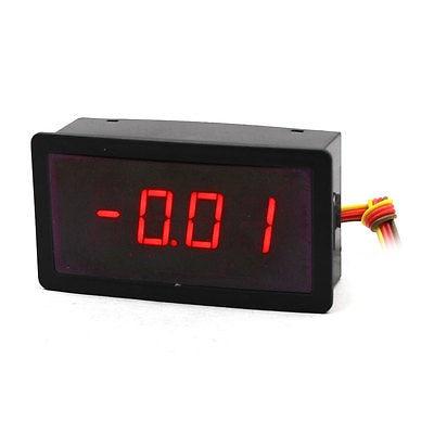 DC100A/75мв 4-провода 4-разрядный красный светодиодный дисплей 5VDC мощность цифровой амперметр