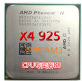 Бесплатная доставка AMD Phenom II X4 925 AM3 четырехъядерный процессор L3 6 М 938 pin настольный компьютер ПРОЦЕССОР