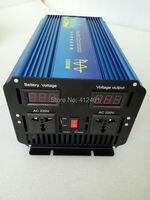 7000W Peak Pure sine wave inverter 24v 220v 3500w with digital display