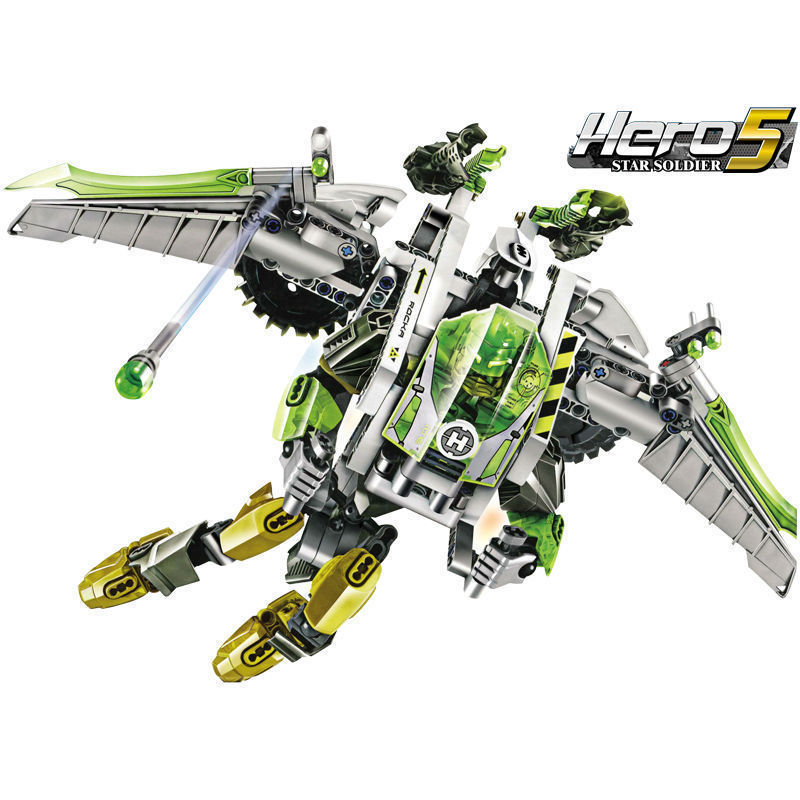 Decool Model building kits compatible with lego city robot 3D blocks Educational model & building toys hobbies for children