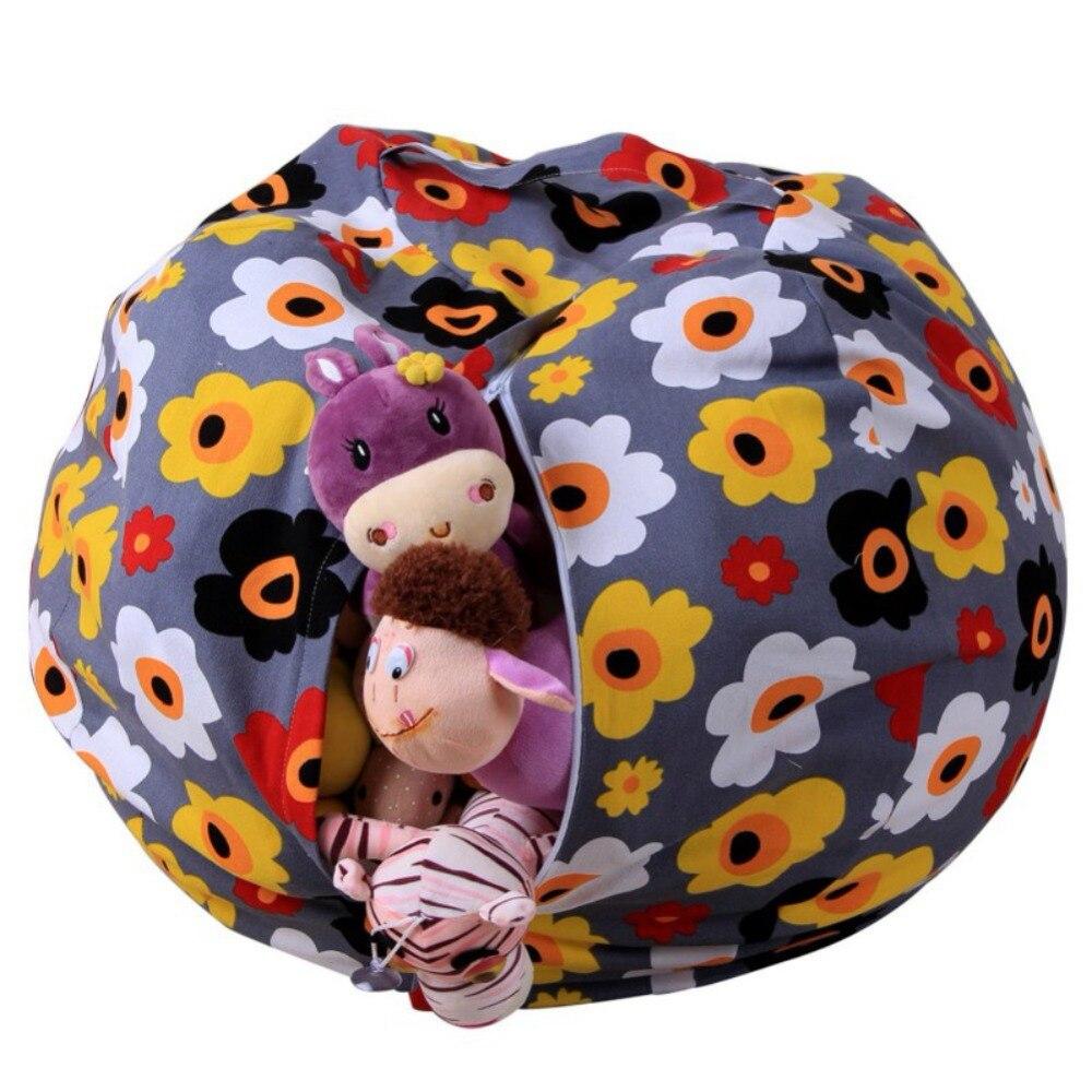 1 Stks Stuffable Dier Speelgoed Opslag Bean Bag Gevulde Kinderen Knuffel Organizer Creatieve Stoel Voor Kinderen Laat Onze Grondstoffen Naar De Wereld Gaan