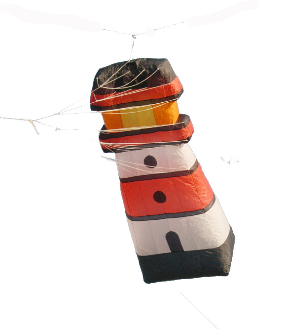 Nouveaux cerfs-volants de phare de puissance de SPORTS d'amusement en plein air faciles à voler