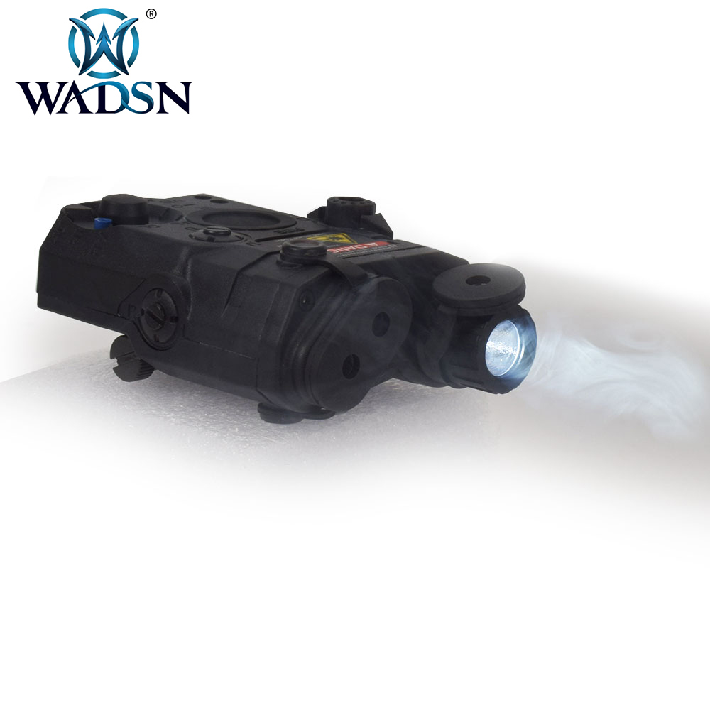 Image 5 - WADSN Airsoft LA PEQ15 Red Dot Laser Tactical light PEQ 15 IR Lazer Flashlight Combo Hunting softair Peq 15 Weapon Lights EX276-in Weapon Lights from Sports & Entertainment
