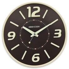 Саат Часы Настенные Часы Reloj, Скачать Saati Horloge Murale Relogio де parede Цифровой Настенные Часы круглый металлический Клок Часы Дома декор