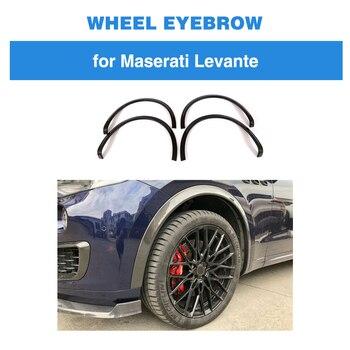 Koła z włókna węglowego łuk dla Maserati Levante 2017 2018 podstawa Sport S Sport 4 drzwi nadkola do brwi koła Protector błotniki