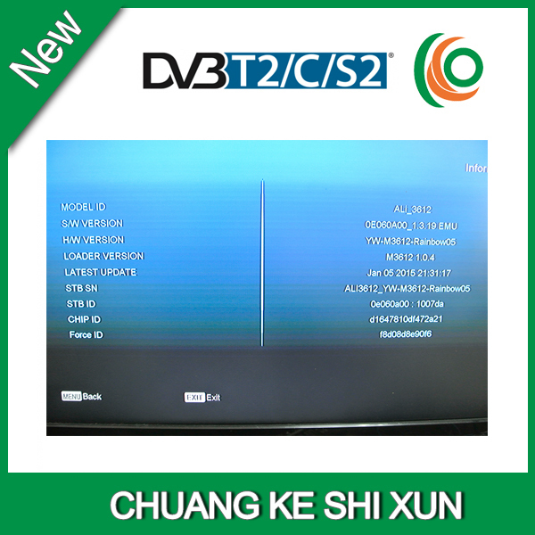 MPEG-4 H 264 receiver dvb-s2 dvb-t2 dvb c Amiko mini combo receiver