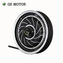 QS 14 inch DO MOTOR 4000 W 273 40 H V3 Brushless DC Motor Do Cubo Scooter Elétrico Da Motocicleta