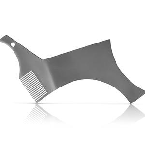 Image 3 - כל ב אחד נירוסטה בירד עיצוב וסטיילינג מסרק תבנית כלי 100% פרימיום באיכות סטנסיל עבור גברים של זקן גילוח