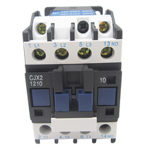 CJX2-1210/1201 AC contactor LC1-D380V/220V/36V single phase three phase 24V стоимость