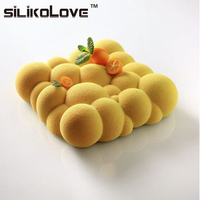 Baking White Silicone Cloud Shaped Mousse Cake Mould Dessert Decorating Tools