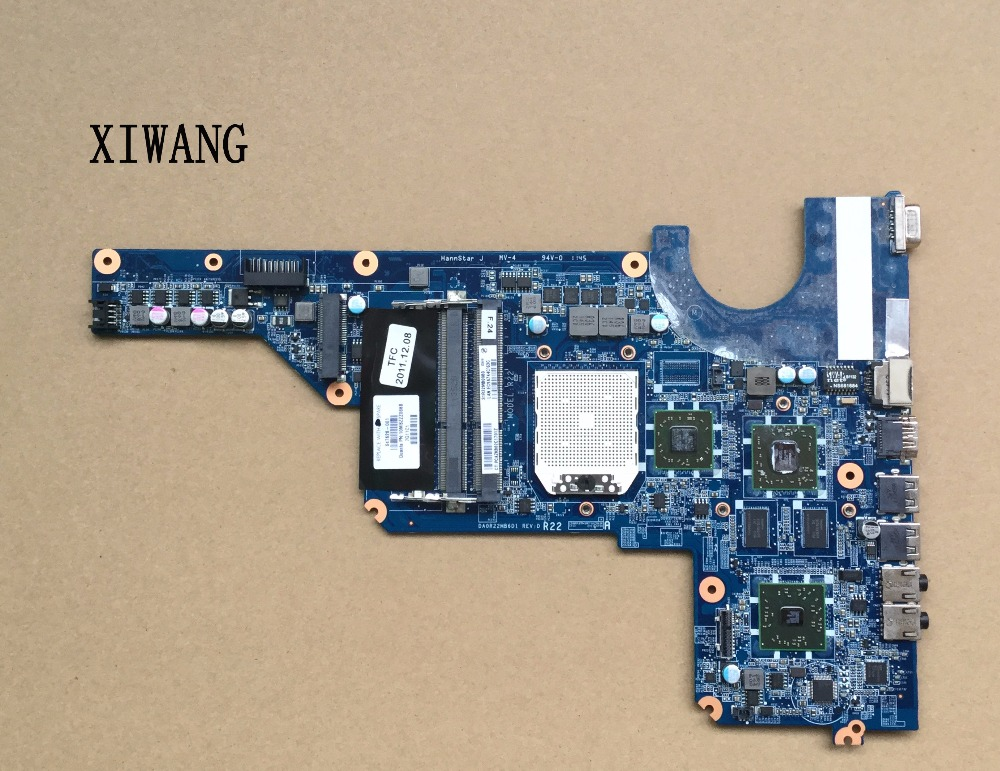 638855-001 mainboard 647627-001 for HP Pavilion G4 G6 G7 G4-1000 R22 laptop motherboard DA0R22MB6D0, 100% tested OK цена