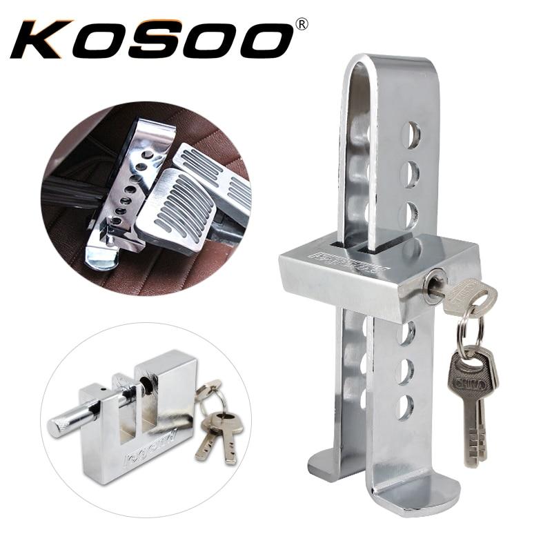 Universal Anti-theft Device Clutch Pedal Lock Car Brake Security Tool NEW J