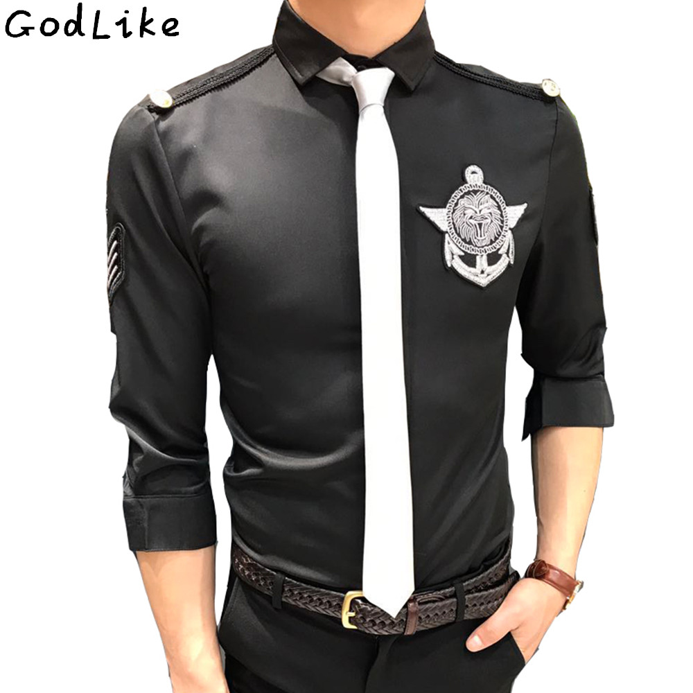 Compare Prices on Mens Black Shirt Slim Fit- Online Shopping/Buy ...