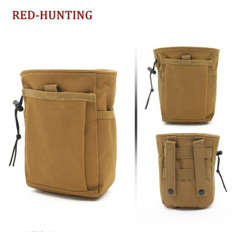 Us 6 0 50 Off Hot Tactical Military Airsoft Hunting Camo Molle Magazine Dump Drop Small Pouch Bag In Pouches From Sports Entertainment On