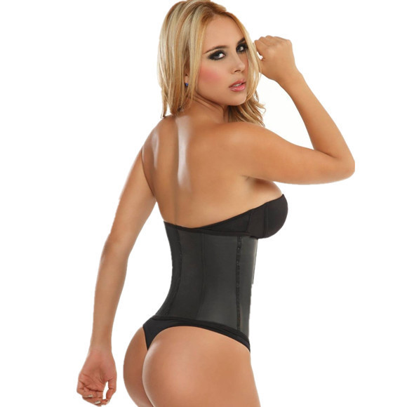 63ce75e5438 Hot Body Shapers Waist Shaper Corsets Latex Waist Cincher