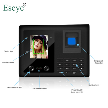цена на Biometric Face Facial Recognition Fingerprint Time Attendance System TCP/IP Access Control Recorder Employee Electronic Machine