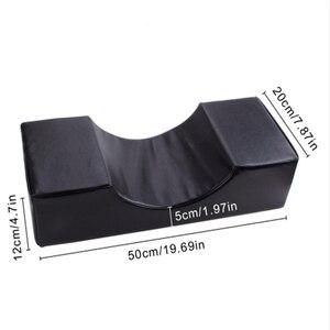 Image 3 - まつげエクステンション専門枕、特別使用のためのグラフトまつげエクステンション、革とフランネル枕