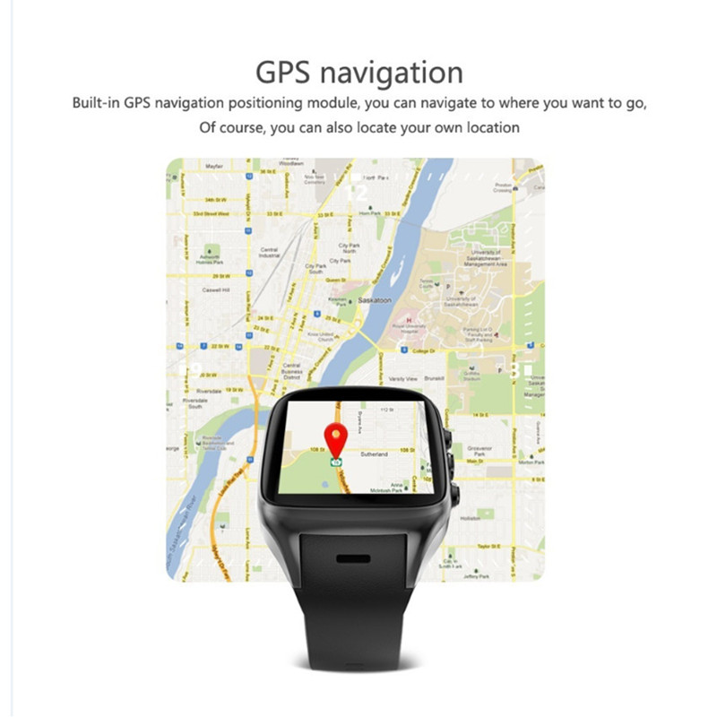 S3 Smart Watch Android 5.1 MTK6580 1GB+16GB 400*400 Smartwatch with 3G Wifi GPS Heart Rate For Android iOS Phone цена