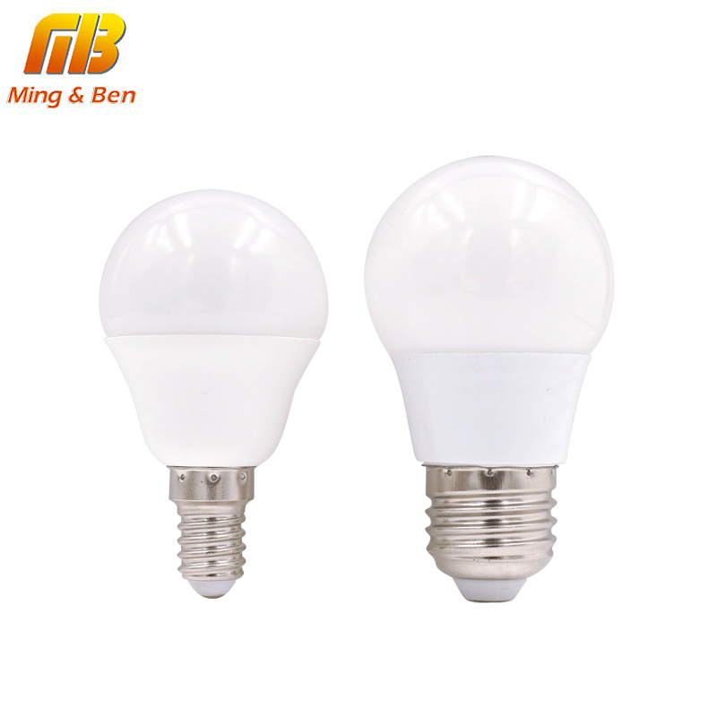 [MingBen] LED Bulb Lamps E27 E14 220V Light Bulb Smart IC Real Power 3W 5W 7W 9W 12W 15W High Brightness Lampada LED Bombillas