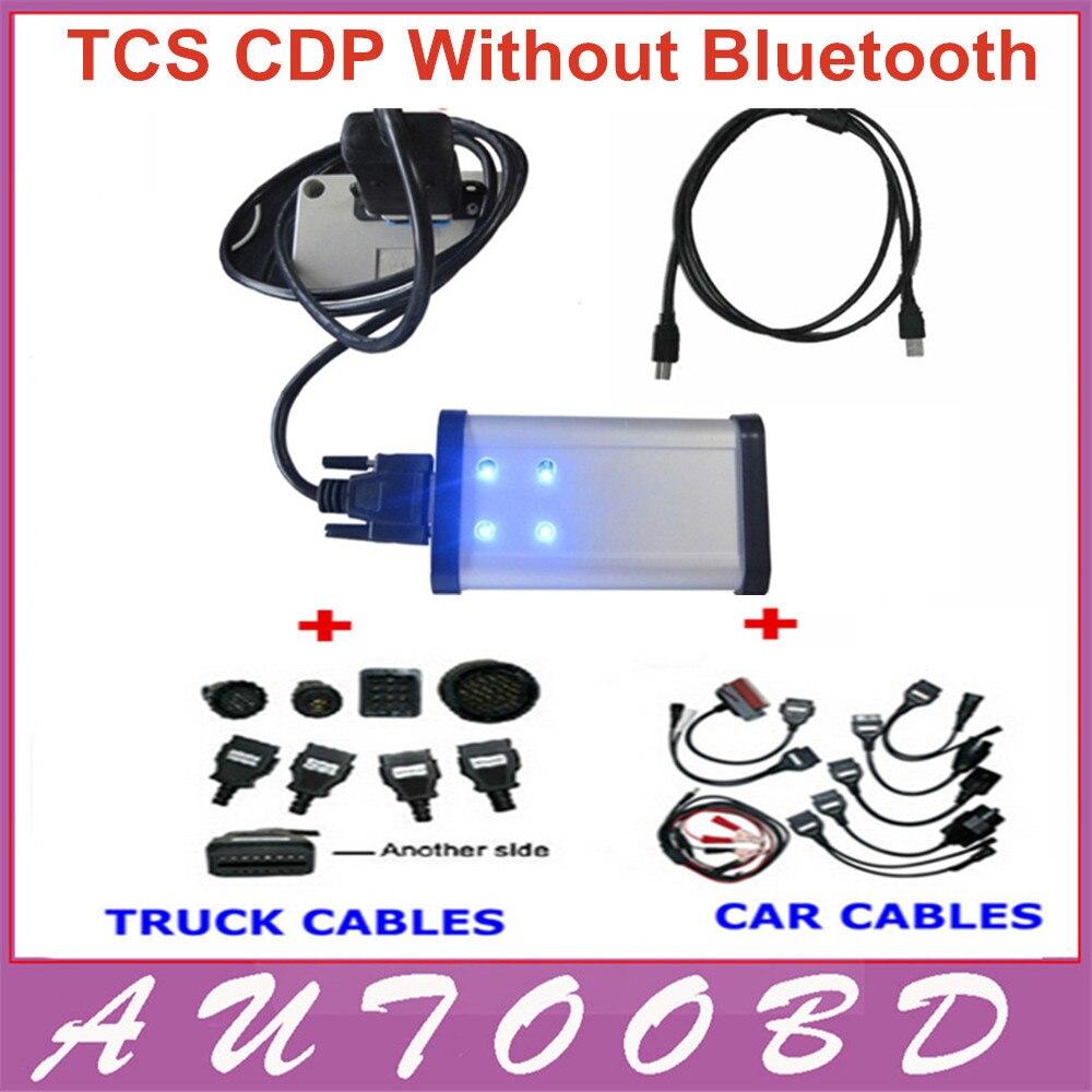 DHL free Black LED font b LIGHT b font TCS CDP Pro Plus 2014 R2 with